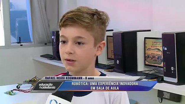 Reportagem - Colégio Criativo