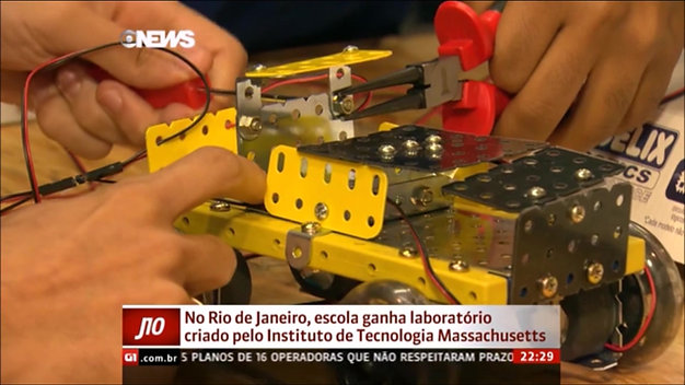 FabLab do senai construido pelo MIT