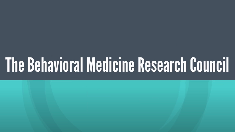 Behavioral Medicine Research Council Overview