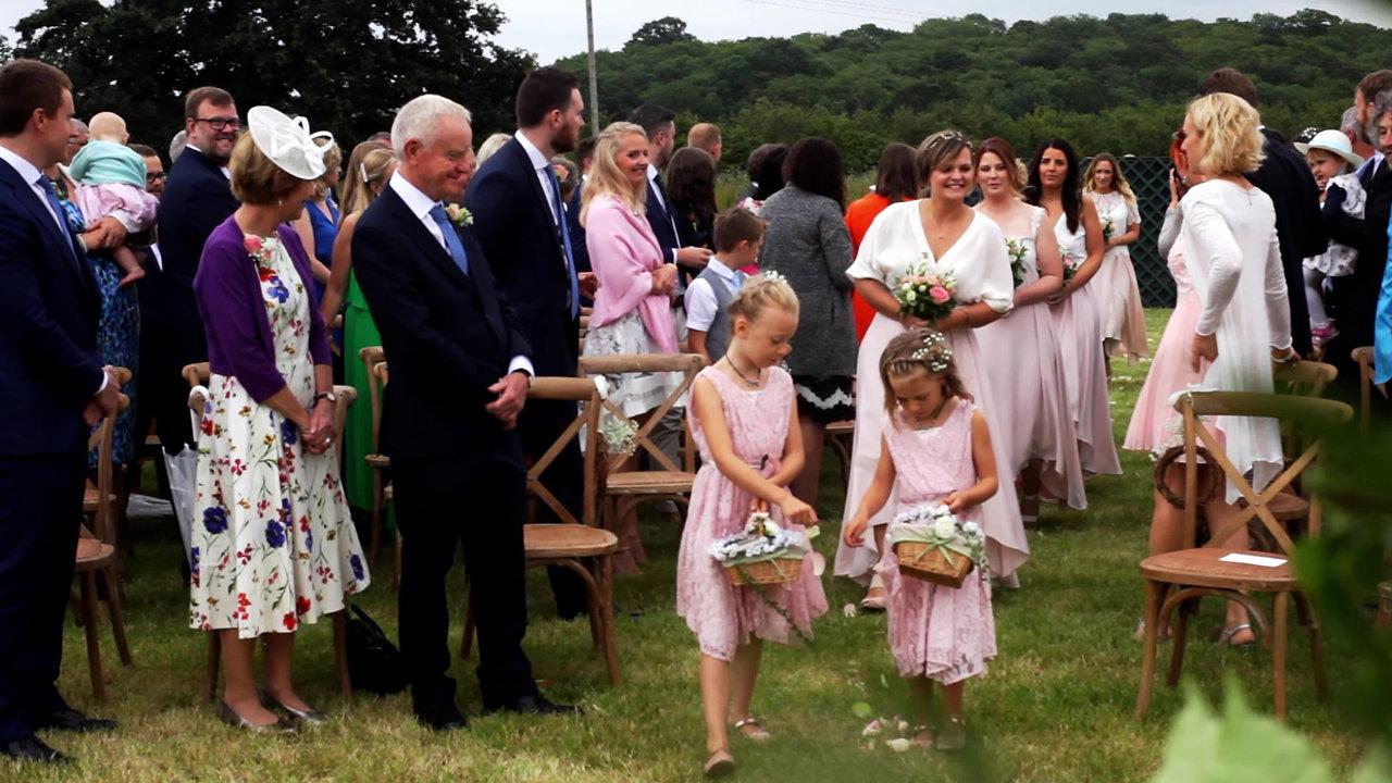 Ben and Sarah wedding video