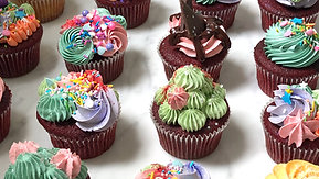 Fun Colourful Cupcakes