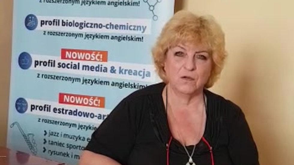 Urszula Wadowska język polski
