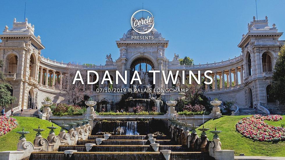 Adana Twins live Palais Longchamp