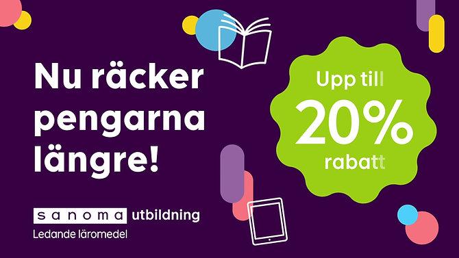 Kampanj för Sanoma utbildning
