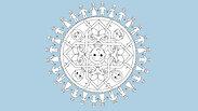 Mandala - ur boken Flyktfåglar