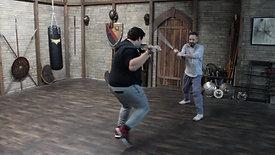 Action: Broadsword Skill Work at Creative Combat