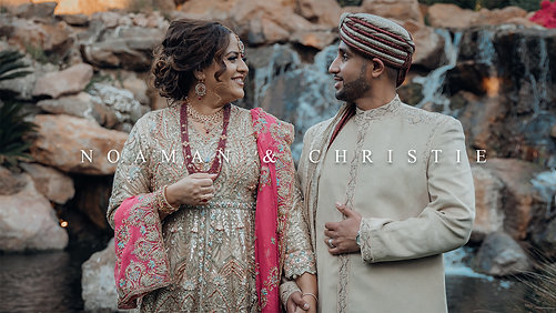 Noaman & Christie's Wedding
