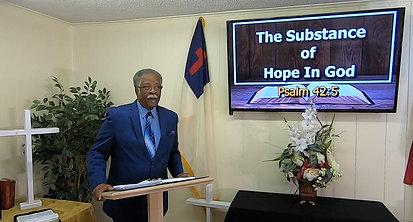 Pastor Harris Online Sermon (04052020)