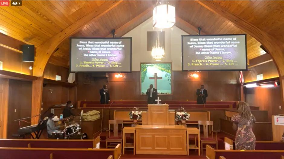 Pastor Harris - Mt Rose - Sep 27 2020