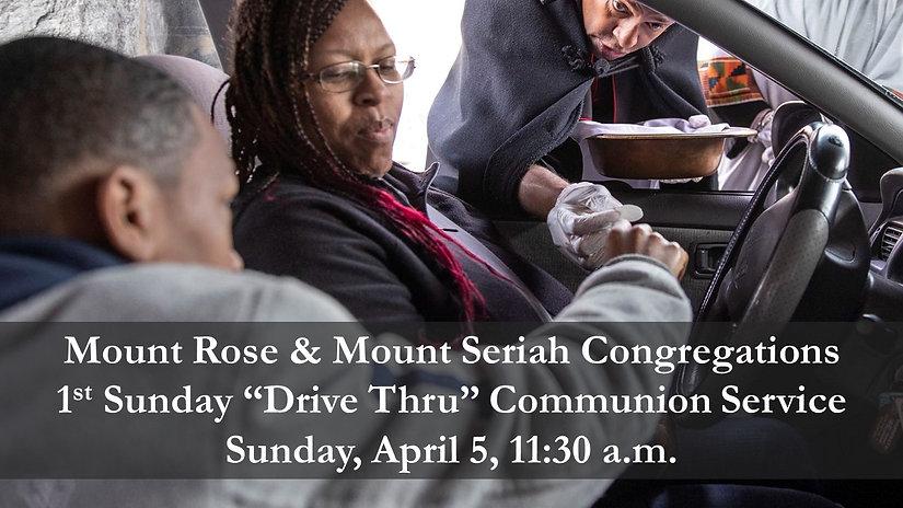 1st Sunday Communion