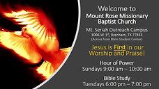 Rev Williams Online Sermon (04122020)