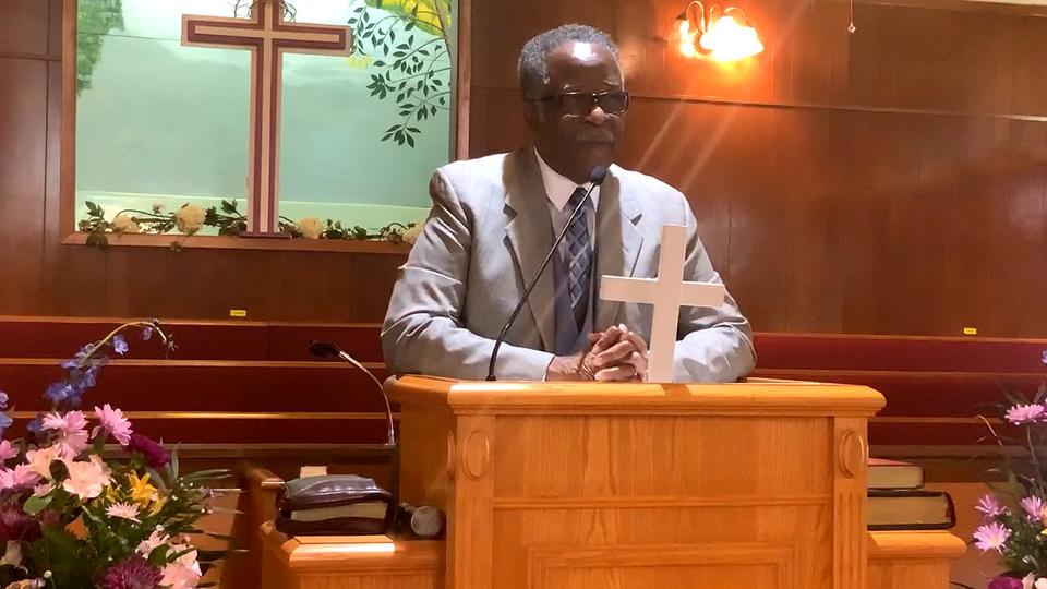 Pastor Harris - Mt Rose MBC
