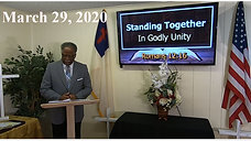 Rev Harris - March 29 2020