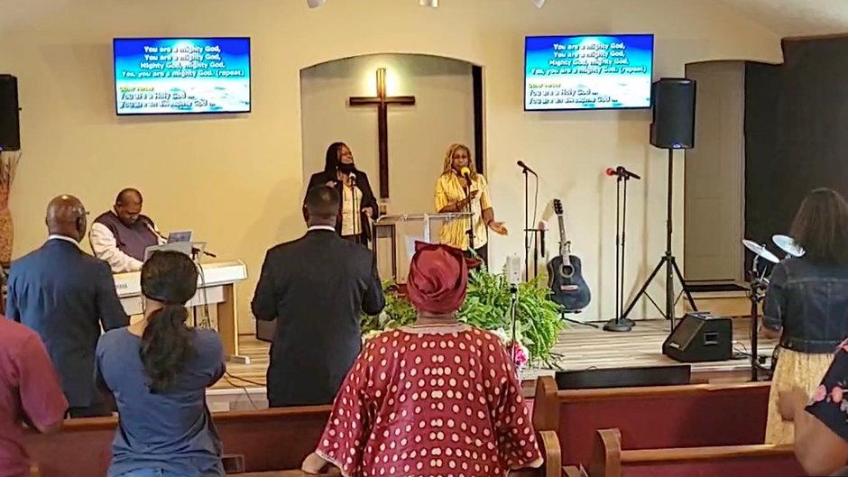 Rev Dock Williams - Mt Seriah - July 25 2021