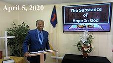 Pastor Harris Sermon (Mt Rose, 04052020)