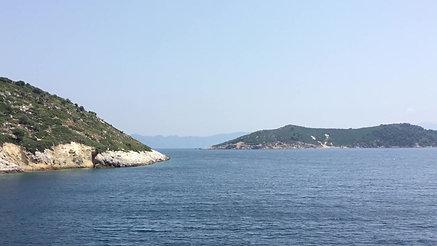 Van Skiathos naar Skopelos