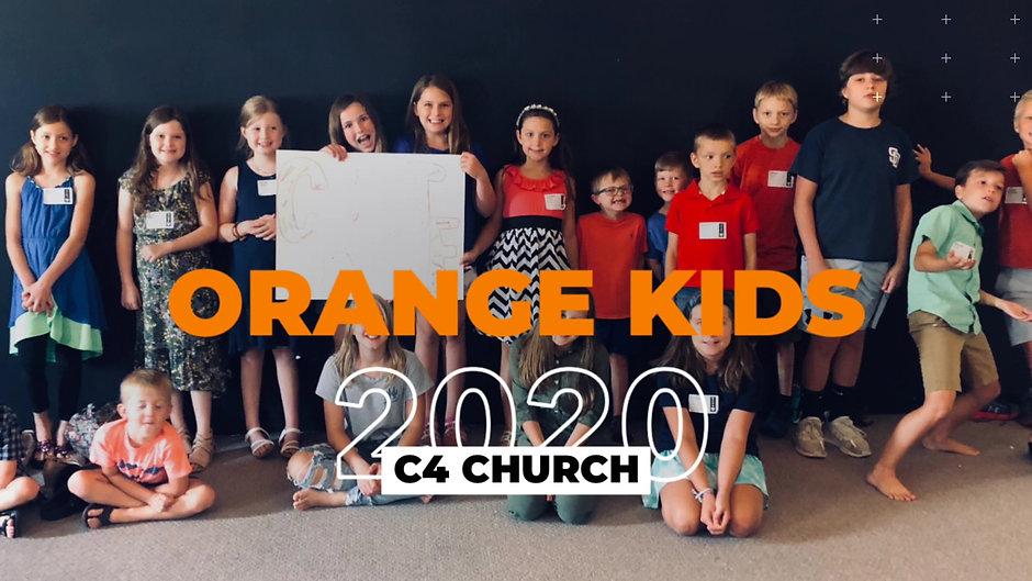 Orange Kids Sunday