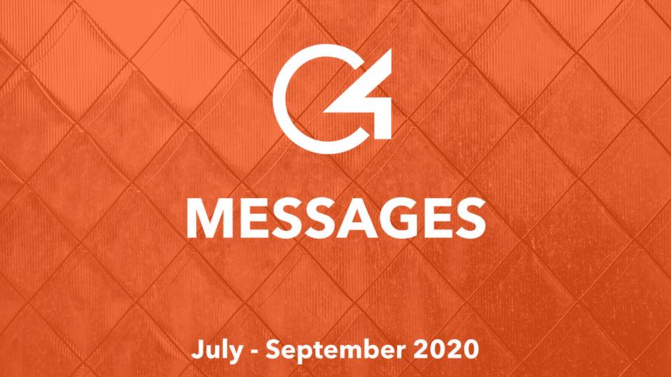 C4 Messages: July - September 2020