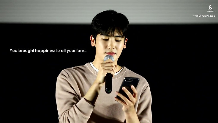 #weloveyouHyungsik Every Day, Every Moment from Hyungsikness