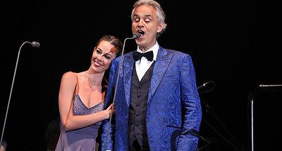 Andrea Bocelli Tour Reel