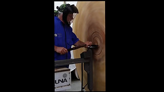 turning a wall sculpture