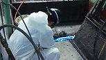 塗装ブース清掃