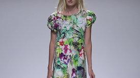 Kleid Flechtärmel