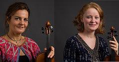 Alexandra Iosif und Carolina Mateos, Violine