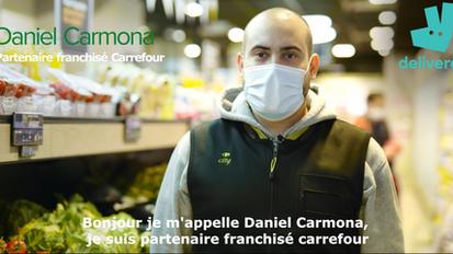 Carrefour proximité X Deliveroo