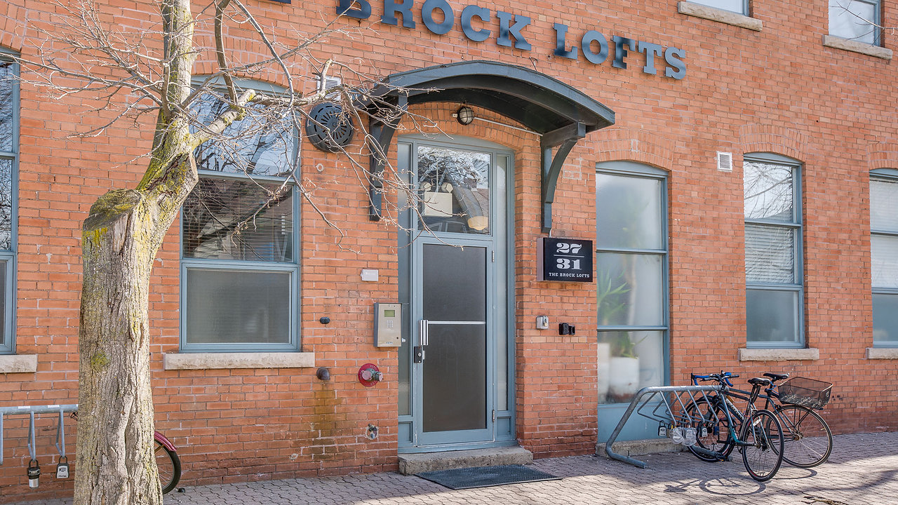Loft For Sale at 27 Brock Ave, Unit 209 | West Queen West | Parkdale