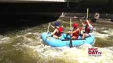 White water rafting - city style