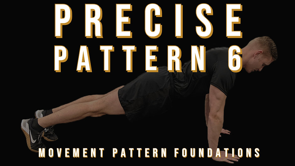Precise Pattern 6 Progression