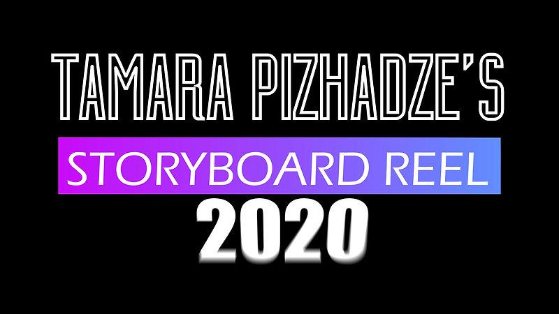 Storyboard Reel 2020