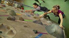 The Lost Girls Rock Climb in NYC