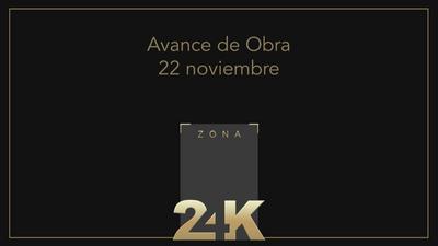 Avance de obra Zona 24K - Noviembre 2020
