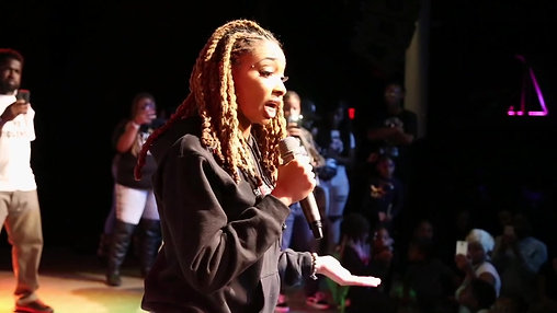 Dutchess of Ink Speaks at Anti-Bully Rally