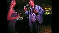 """Darcus sings with Tony Terry """"Closer I Get to You"""""""