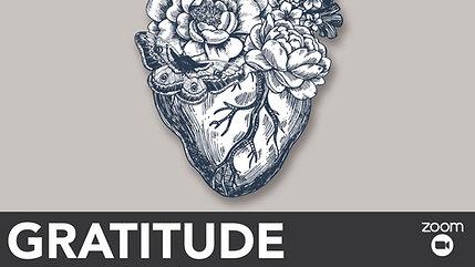 Gratitude - Member Session- 2020 - November