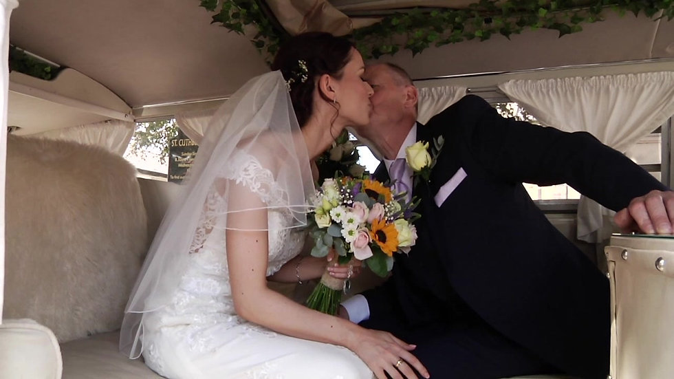 Paparazzi Studios Wedding Video, Mark and Kerry at Meols Hall