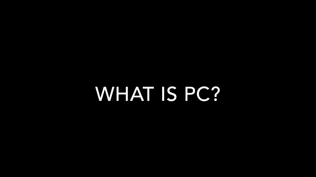 Intro to PC