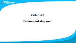 Video 2Failure cant stop you