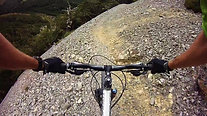Mountain biking at Craggieburn with JustMTB - riding the scree line