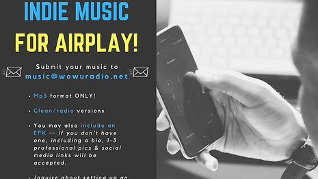 Submit your Indie music!