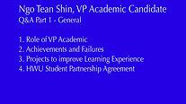 Ngo Tean Shin - Q&A General
