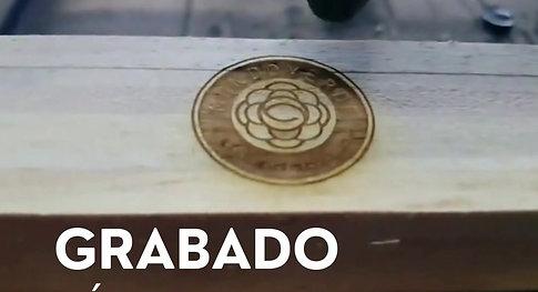grabado láser MUNDO VERDE