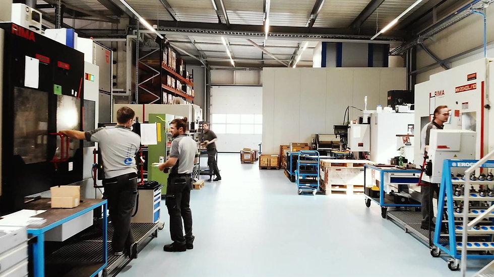 RIHS GmbH - CNC-Fertigung