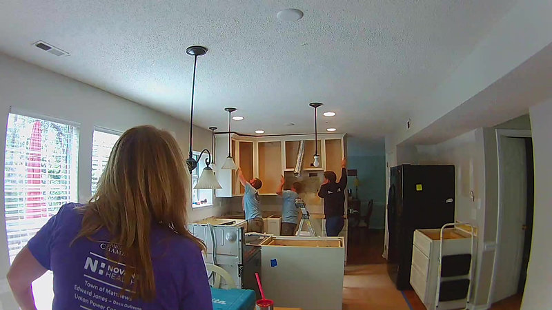 Kitchen time lapse