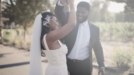 Kayla and David (DJ Jones) Wedding Announcement| Pleasanton, CA