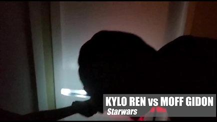 KYLO REN vs MOFF GIDON // Star Wars