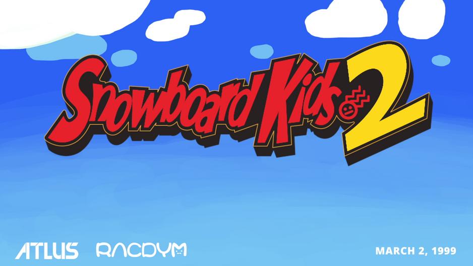 Snowboard Kids 2 Trailer